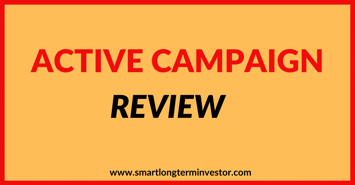 Active Campaign Email Marketing Review Months Later